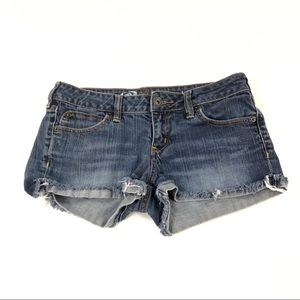 Bullhead Juniors Blue Jean Shorts 5